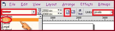 Cara memilih jenis kertas untuk ID Card pada coreldraw