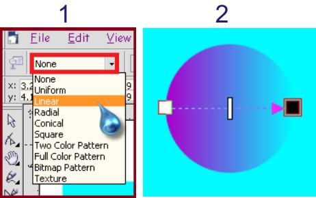 membuat efek warna tipis pada bola kristal
