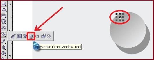 Cara menambahkan efek cahaya pada coreldraw