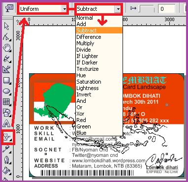 Membuat Efek Transparan pada Gambar Peta
