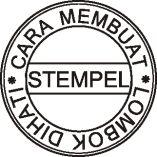 Cara membuat Stempel