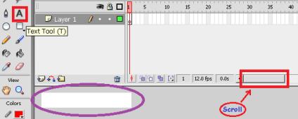Membuat Teks Animasi dengan Macromedia Flash 8