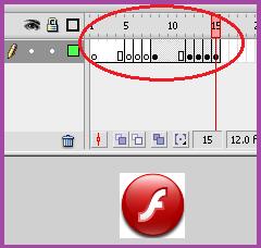Membuat Gambar Berkedip Dengan Macromedia Flash